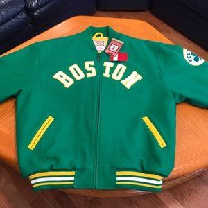 Boston Celtics Hardwood Classic Jacket (XL)